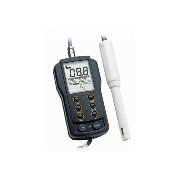 Waterproof Ph Meters : Hanna waterproof ph ec tds meter hi n compelete